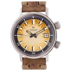 Hamilton Stainless Steel Super Compressor Diver's Self-Winding Wristwatch