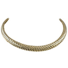 Tiffany & Co. Gold Choker