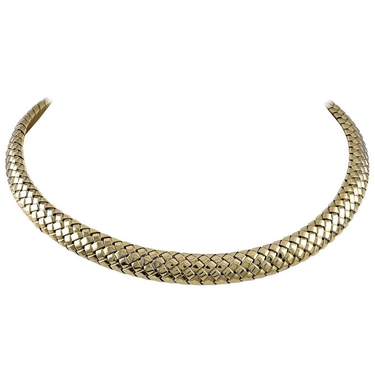 Tiffany & Co. Gold Choker