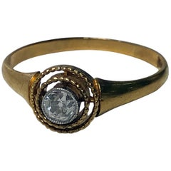 Antique Diamond Ring Continental, circa 1910