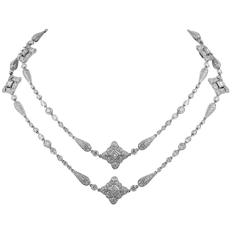 Fine Jewelry Diamond Necklace