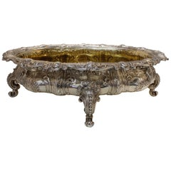 Sterling Centrepiece with Gilded Interior, circa 1900