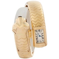 Cartier Panthere Figurative Lakarda 18 Karat Yellow Gold Womens HP600186