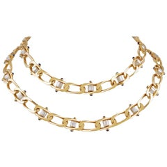 Boucheron Link Necklaces