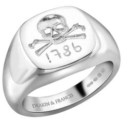 Deakin & Francis Ladies 1786 Collection Signet Ring
