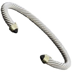 David Yurman Cable Classics Onyx Cuff Bracelet