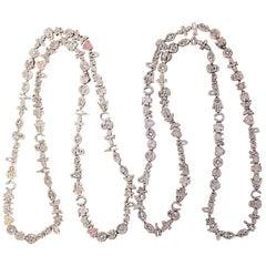 Clarissa Bronfman Diamond Emoji Necklace