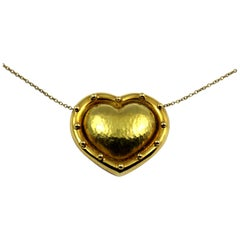Paloma Picasso Tiffany & Co. Puffed Gold Heart