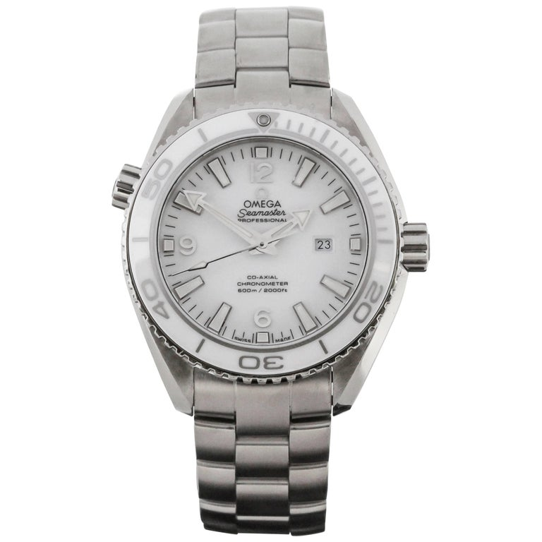 Omega Stainless Steel Seamaster Planet Ocean Automatic Wristwatch, circa 2000