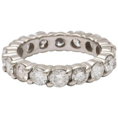 20th Century Diamond Eternity Band Wedding Ring