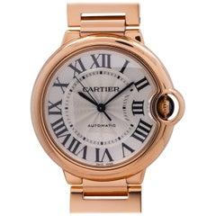 Cartier Rose Gold Ballon Bleu Automatic Wristwatch, circa 2015