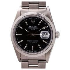 Rolex Oyster Perpetual Date Ref 15200 Quick Set, circa 1993