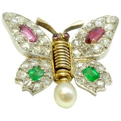 Gem Set Flutter Pin