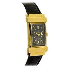 Rolex Gold Art Deco Rectangle Tank Style