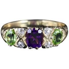 Antique Victorian Suffragette Ring 18 Carat Chester, circa 1900