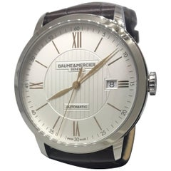 Baume & Mercier Classima Core Automatic Leather Band Men's Watch M0A10263