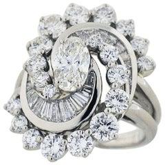 Oscar Heyman 0.62 Carat Diamond Platinum Ring