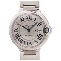 Cartier Stainless Steel Ballon Bleu self winding wristwatch, circa 2000s
