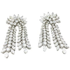26.96 Carat Diamond Earrings