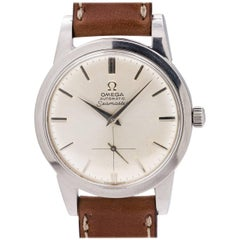 Omega Stainless Steel Seamaster automatic wristwatch Ref 2494-12 SC, circa 1950
