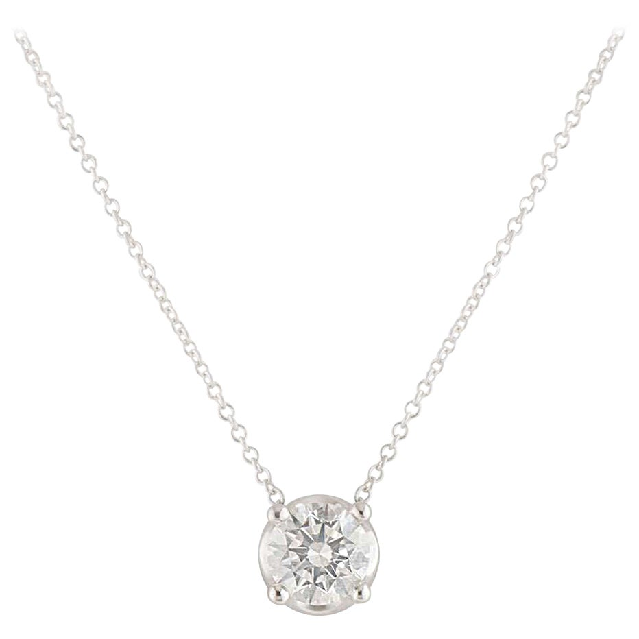 Bvlgari Diamond Corona Necklace 1.02 Carat GIA Certified