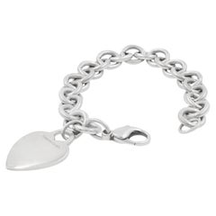 Tiffany & Co. Bracelet Silver Heart Charm