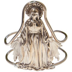 Virgin Mary Cuff Bangle