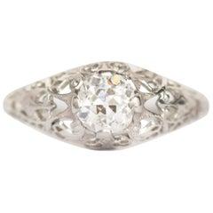 .65 Carat Platinum Engagement Ring