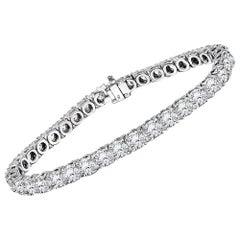 11.40 Carat Diamond Tennis Bracelet