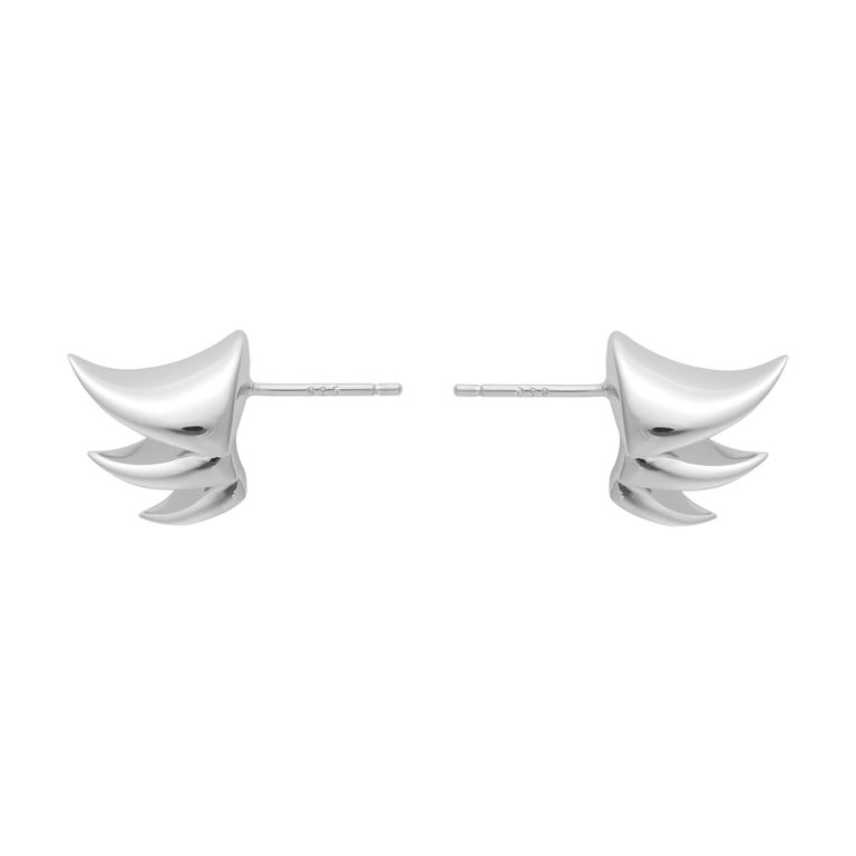 Sterling Silver Thorn Earring