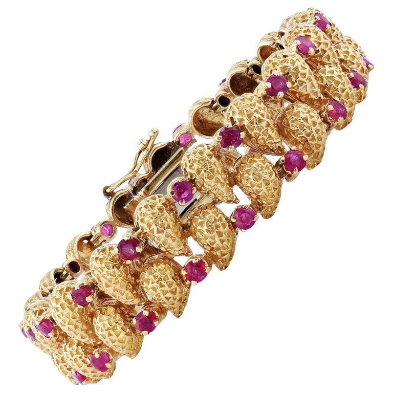 Vintage Tiffany & Co. Ruby Bracelet