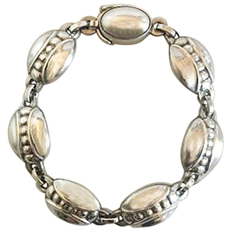 Georg Jensen Sterling Silver Bracelet No 6
