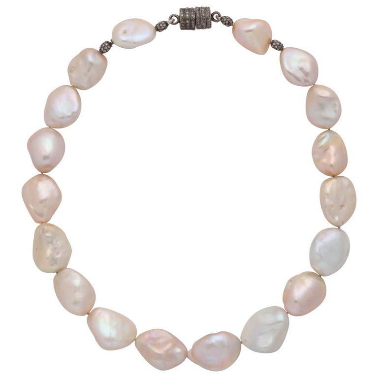 Pearl Diamond Choker