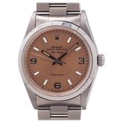 Rolex Stainless Steel Airking self-winding wristwatch Ref 14000, c1995