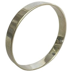 Bent Knudsen Sterling Silver Arm Ring/Bracelet Ring #59