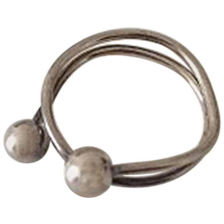 Bent Knudsen Sterling Silver Ring