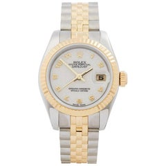 Rolex Datejust 26 Stainless Steel and 18 Karat Yellow Gold Women's 179173
