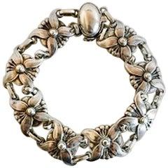 Georg Jensen Sterling Silver Bracelet No 37 from 1933-1944