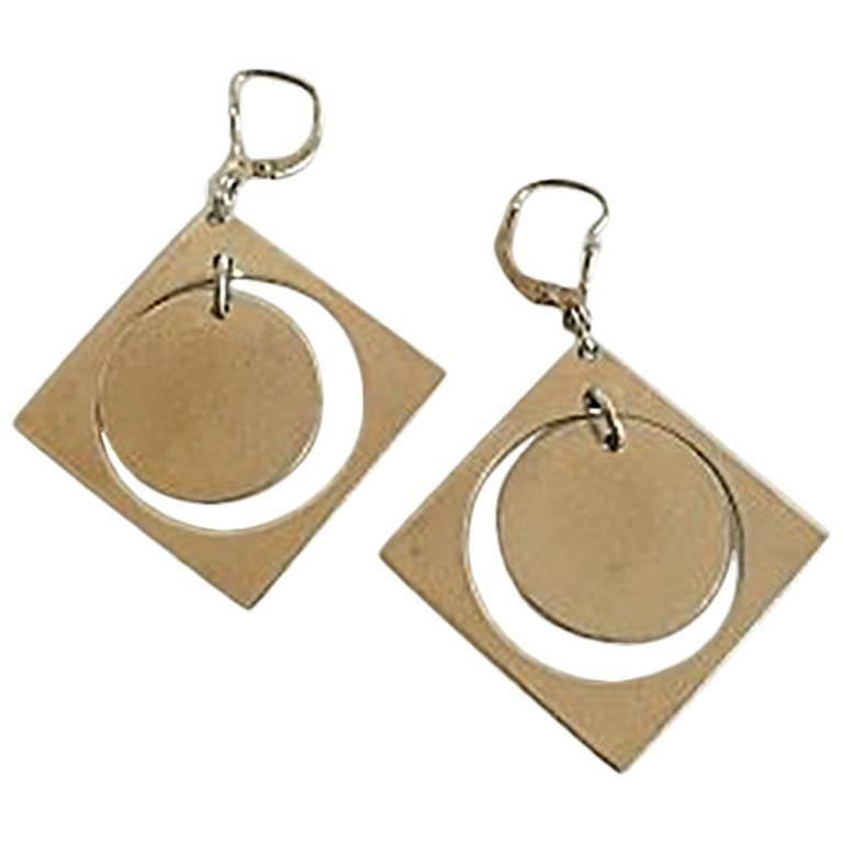 Bent Knudsen Sterling Silver Earrings