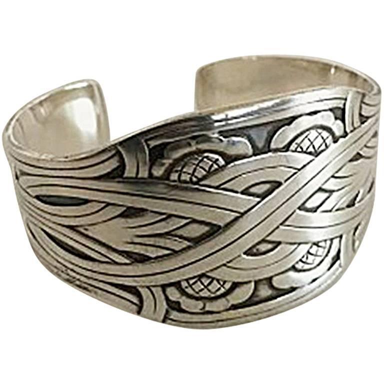 Georg Jensen Sterling Silver Bangle/Bracelet #55