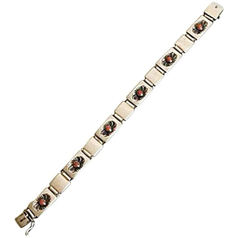 Georg Jensen Sterling Silver Bracelet No 56B
