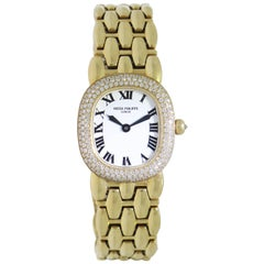 Patek Philippe Ladies Yellow Gold Ellipse quartz Wristwatch Ref 4831J