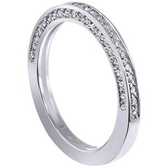 Alex Soldier Eternal Love Diamond White Gold Wedding Band One of a Kind