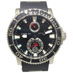 Ulysse Nardin Maxi Diver Black Dial Automatic Men's Watch 263-33-3/82 Brand New