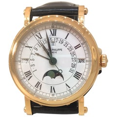 Patek Philippe Grand Complication Perpetual Calendar Retrograde Mens Watch 5059R