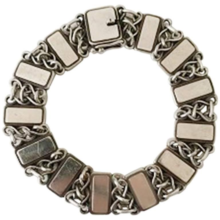 Georg Jensen Vintage Bracelet in Sterling Silver No. 75