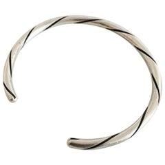 Georg Jensen Sterling Silver Arm Ring #80A
