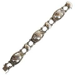 Georg Jensen Sterling Silver Bracelet No 82