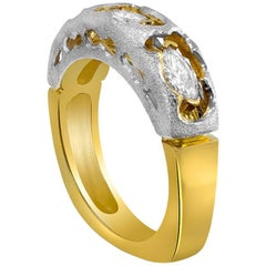 Alex Soldier Hidden Realms Diamond Gold Wedding Band One of a Kind