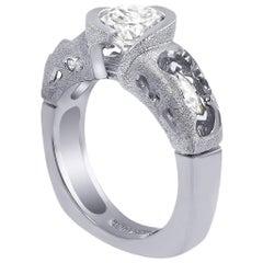Alex Soldier Hidden Realms Diamond Platinum Engagement Wedding Cocktail Ring